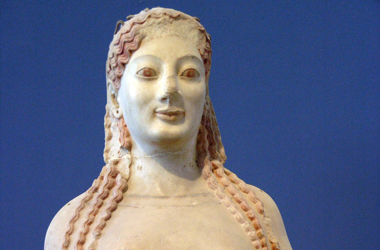 Il ritratto greco arcaico
