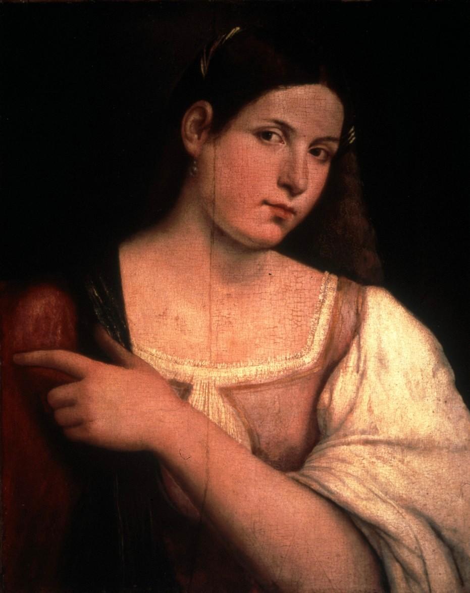Sebastiano del Piombo, ritratto di giovane donna