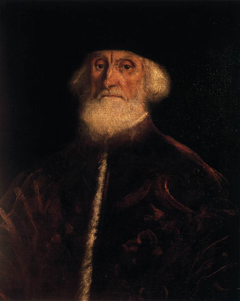 Tintoretto, ritratto del procuratore Soranzo