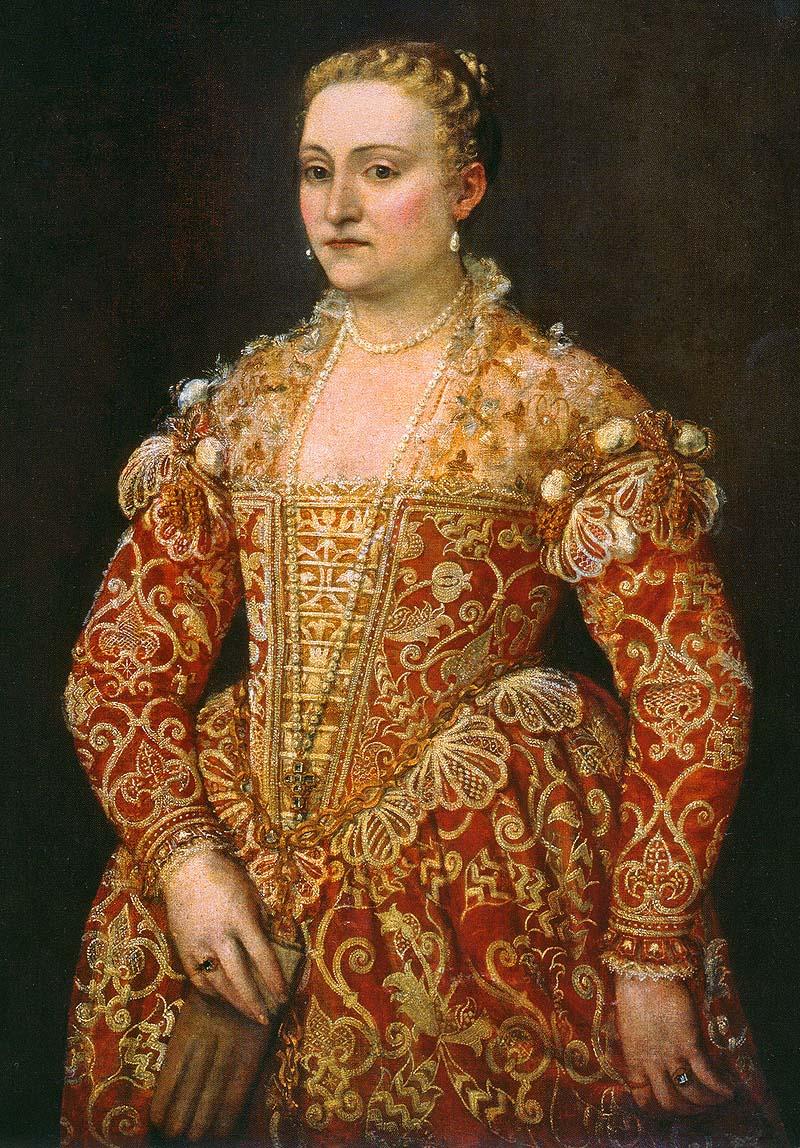 Veronese, ritratto di gentildonna