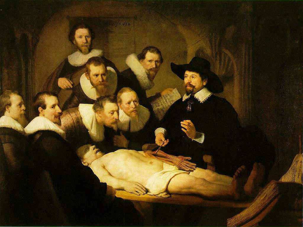 Lezione di anatomia del dottor Tulp, Rembrandt