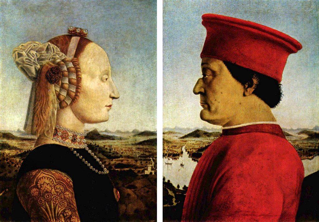 Le coppie nell'arte