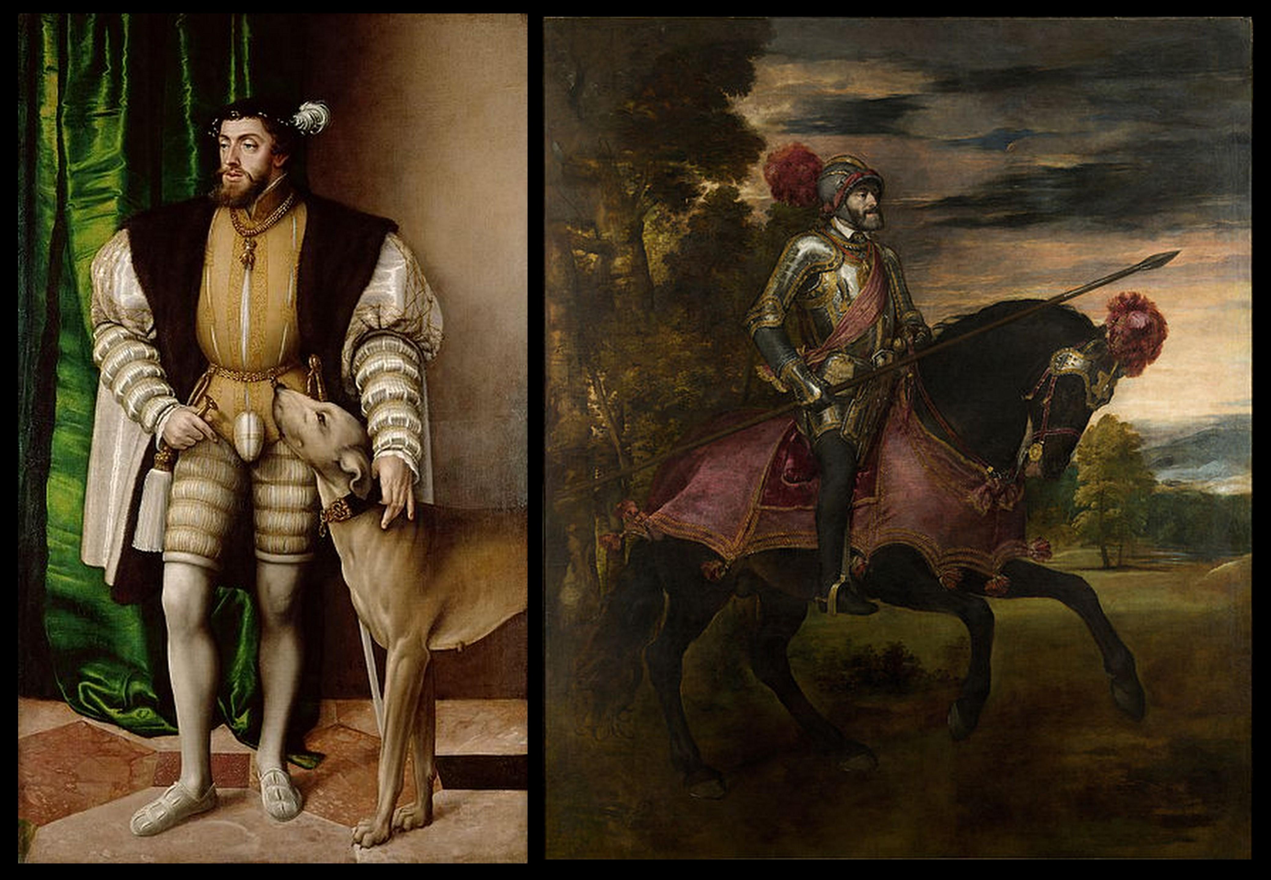 I ritratti di Carlo V