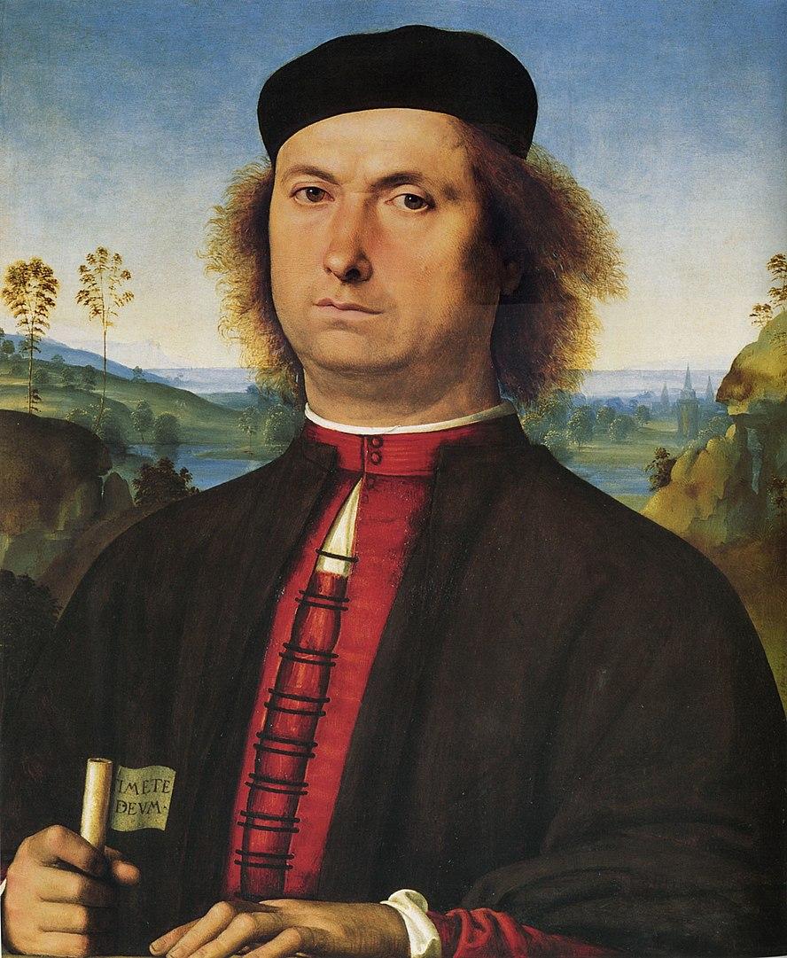 Perugino,Ritratto di Francesco delle Opere