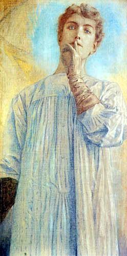 Fernand Khnopf, il silenzio
