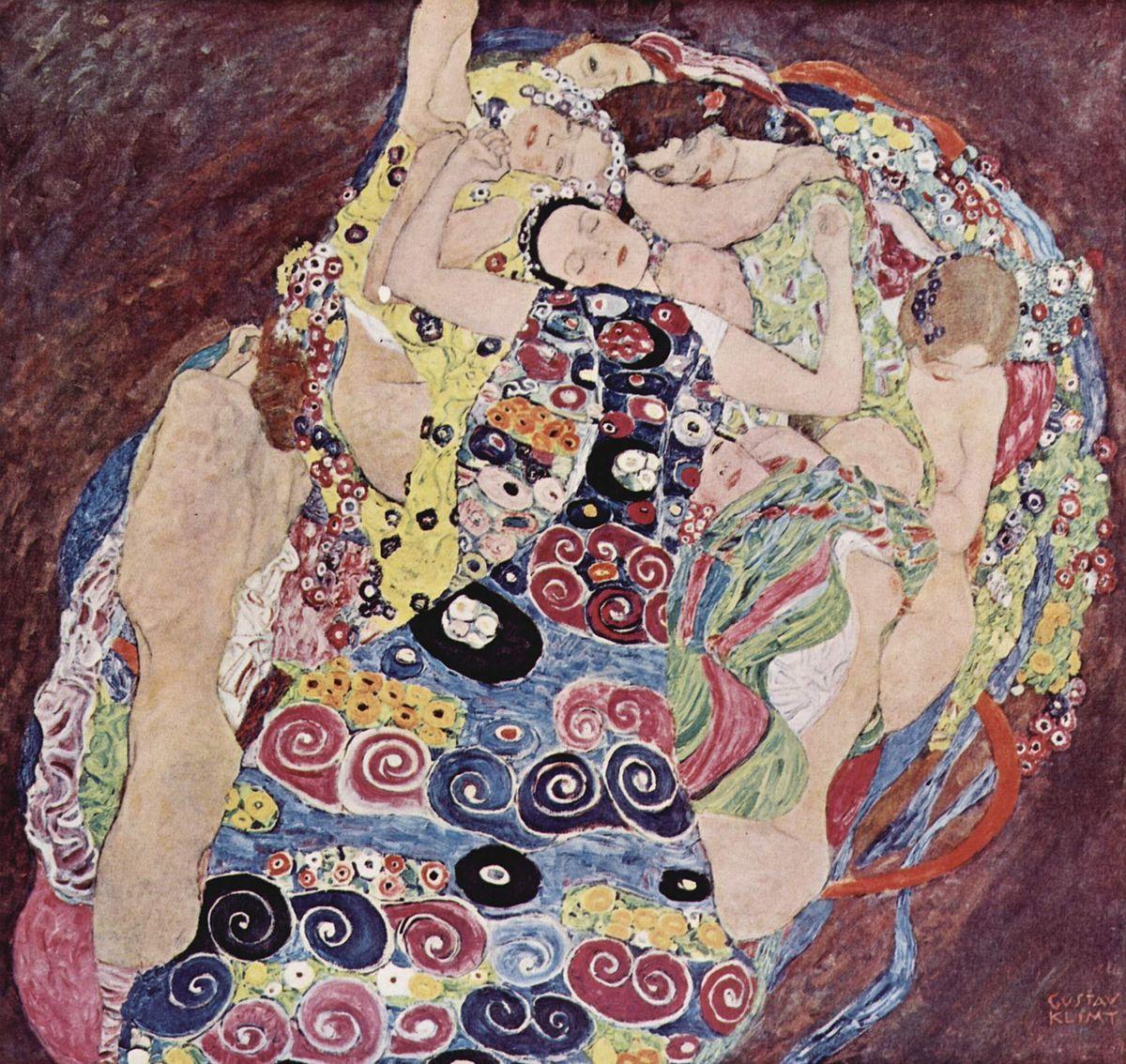 Gustav Klimt, la vergine