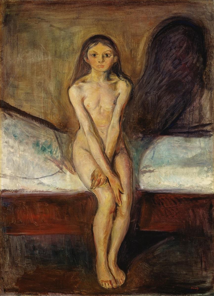 Edvard Munch, Pubertà