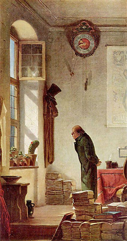 Carl Spitzweg, il Tartufe
