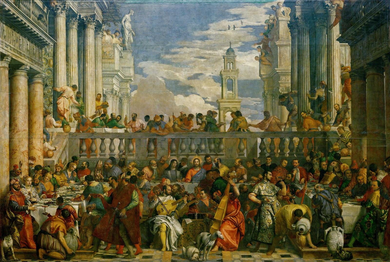 Le nozze di Cana - Paolo Veronese