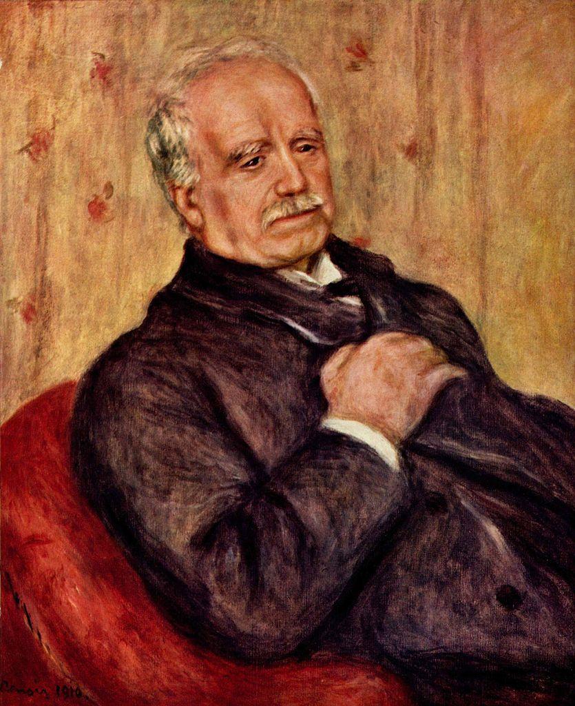 Pierre-Auguste Renoire, ritratto di Paul Durand-Ruel