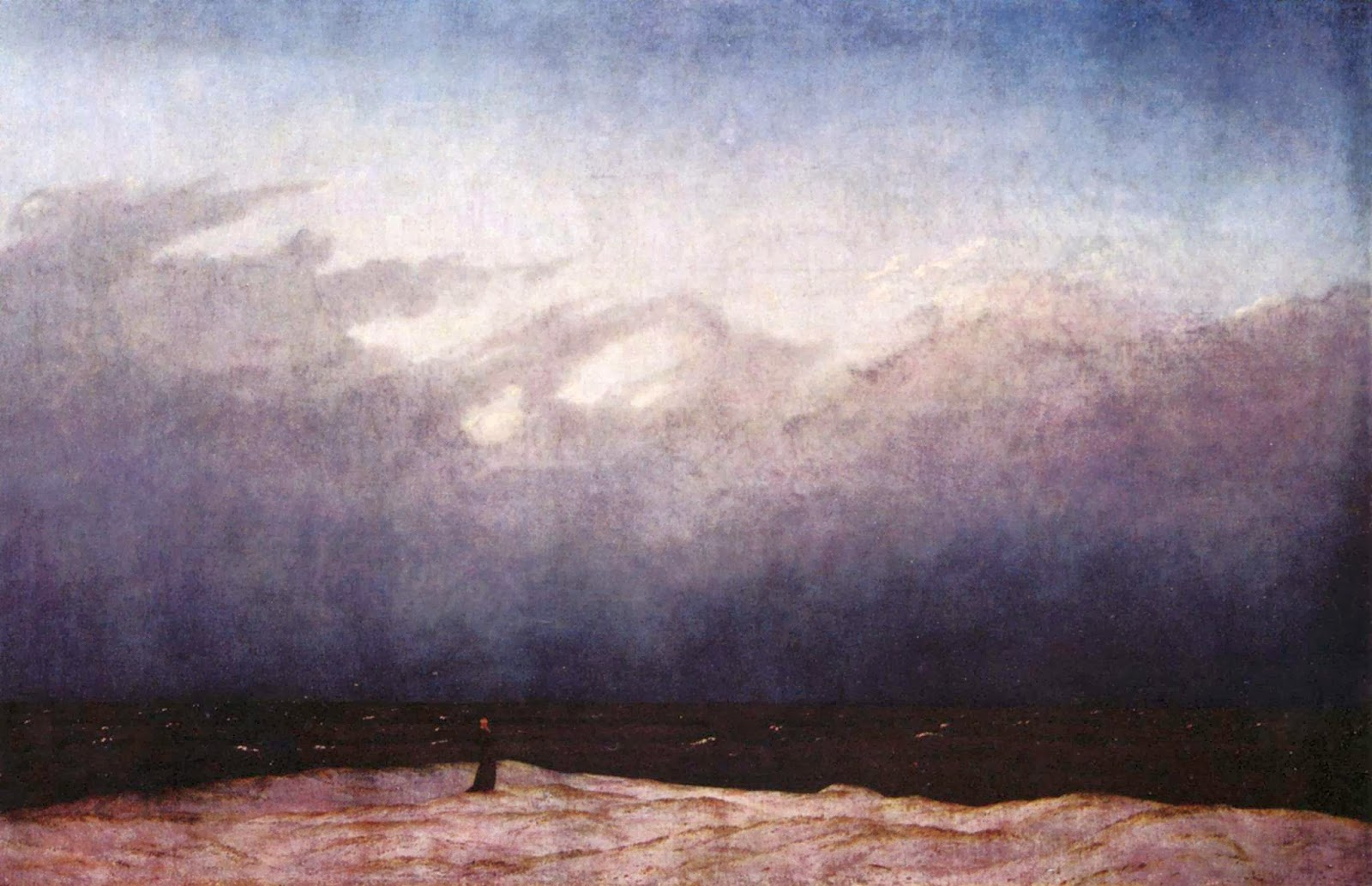 Monaco presso il mare, manifesto romantico
