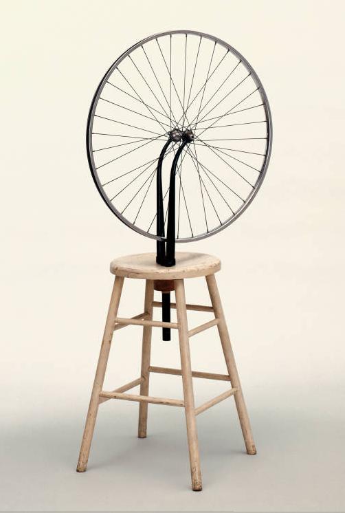 Marcel Duchamp, ruota di bicicletta