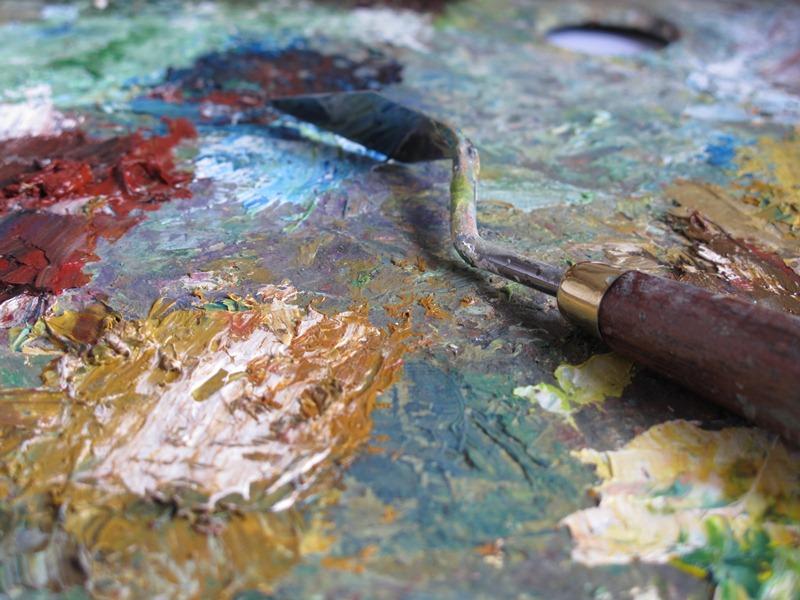 La pittura a olio