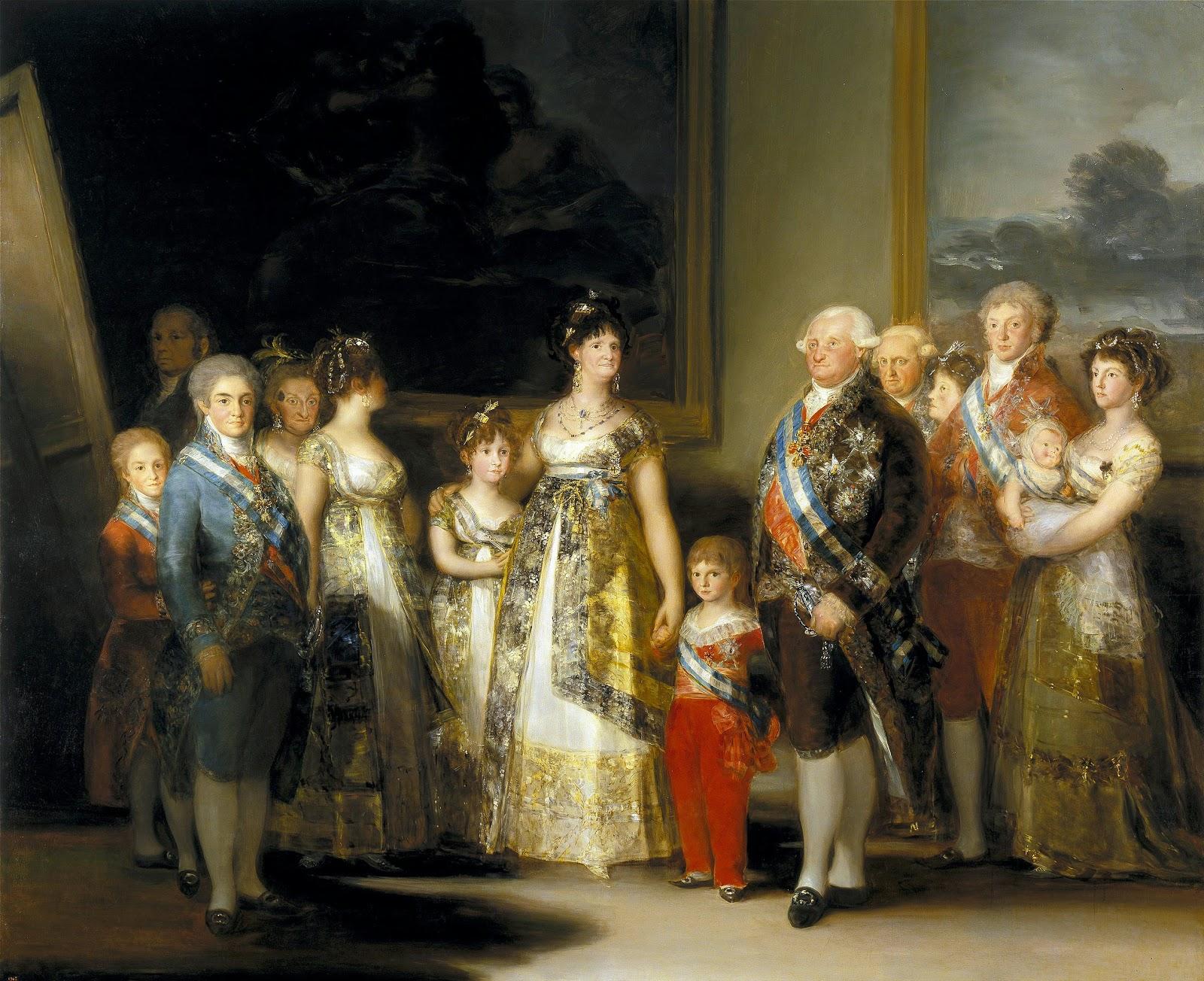 Ritratti di famiglia #2 - i reali di Spagna