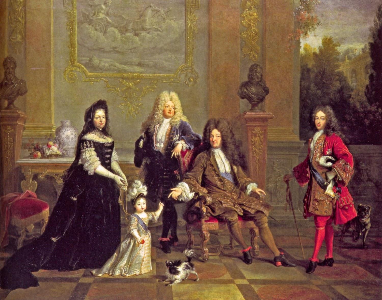 Ritratti di famiglia #1 - reali di Francia Nicolas de Largilliere
