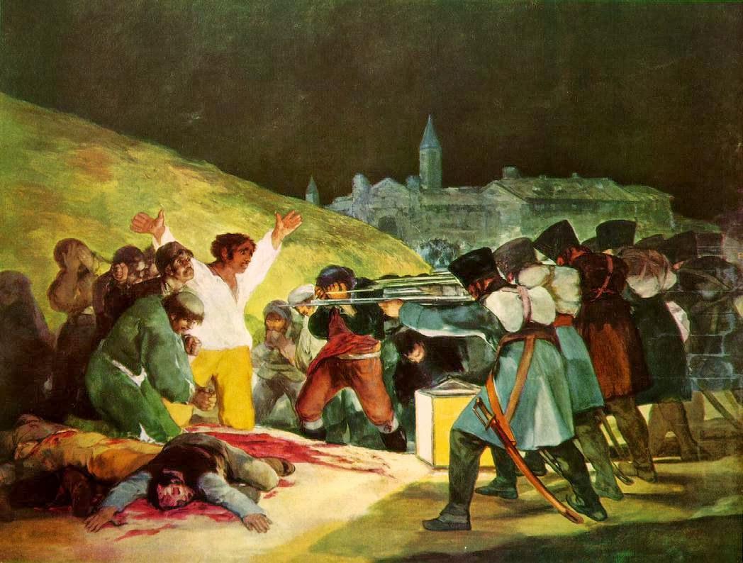 3 maggio 1808, Francisco Goya