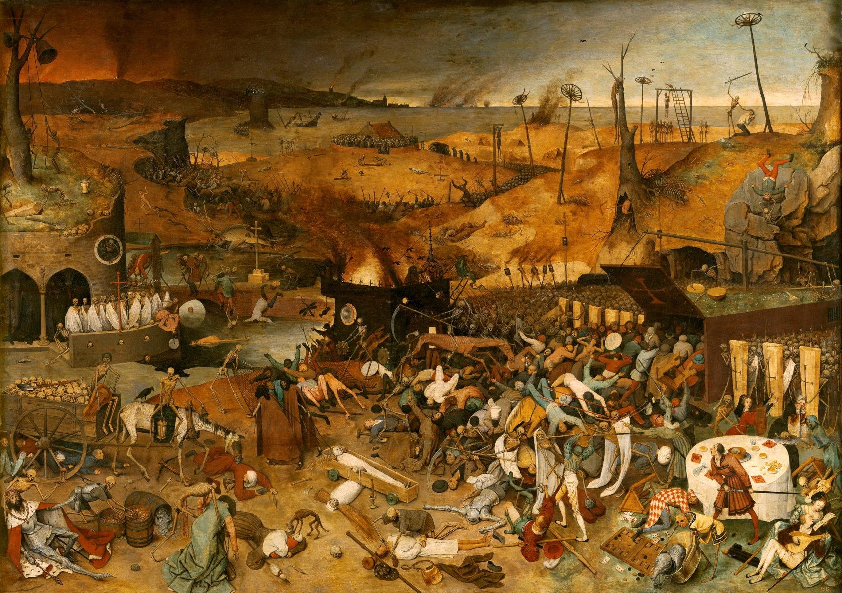 Il trionfo della morte e la danza macabra