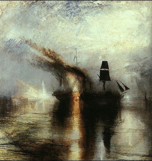 Turner, pace, esequie in mare