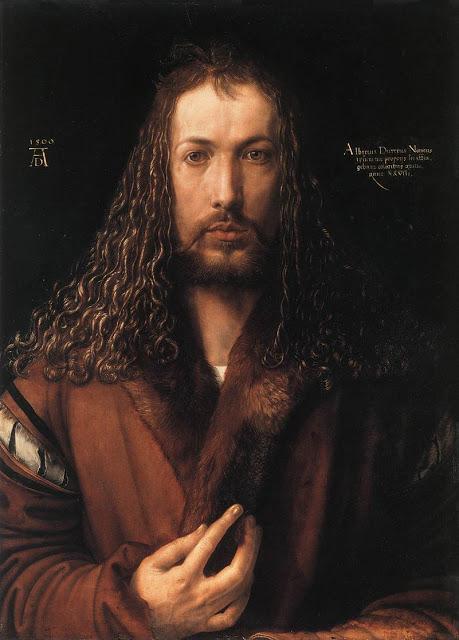 Albrecht Durer, autoritratto con pelliccia