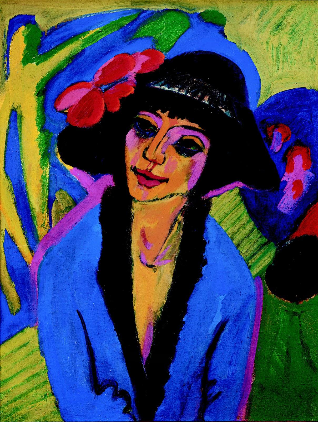 Ernest Ludwig Kirchner, ritratto di Gerda