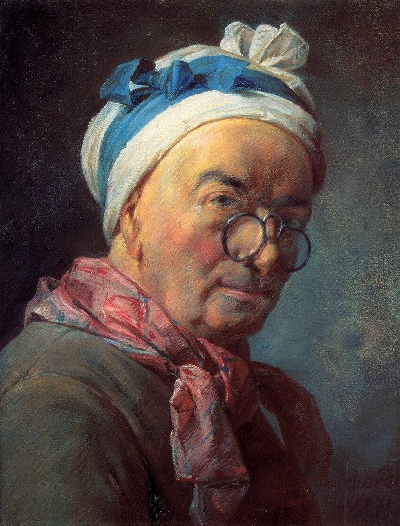 Simeon Chardin, autoritratto