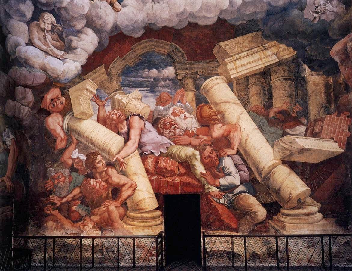 Giulio Romano, la caduta dei giganti