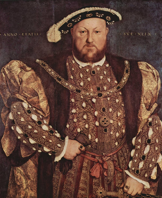 Hans Holbein il Giovane, ritratto di Enrico VIII