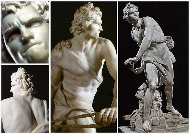 david of gianlorenzo bernini Gianlorenzo bernini, david, 1623, marble, 5 feet, 7 inches high (galleria  borghese, rome) speakers: dr beth harris and dr steven zucker.