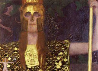 Gustav Klimt – Pallade Atena (1898)