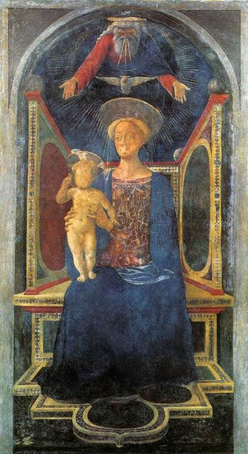 Domenico Veneziano, Madonna con Bambino in trono