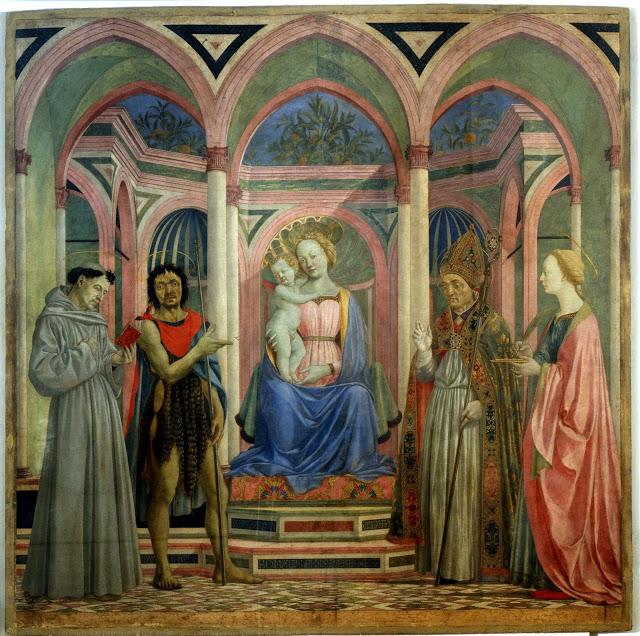 Domenico Veneziano, Pala di S. Lucia dei Magnoli