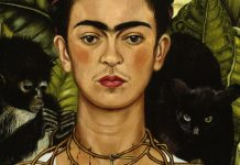 Autoritratto con collana di spine, Frida Kahlo