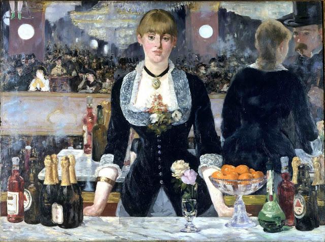 Il bar delle Folies-Bergère, Edouard Manet
