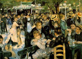 Ballo al Moulin de la Galette, Pierre-Auguste Renoir