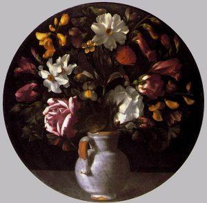 Juan Fernandez il Labrador, vaso di fiori