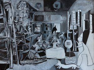 Picasso. Las Meninas