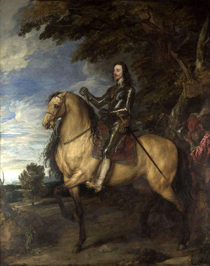 Ritratto di Carlo I a cavallo