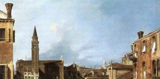 Cortile dello scalpellino, Canaletto