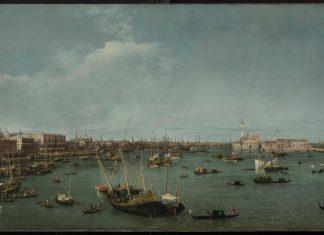 Canaletto, Il bacino di San Marco verso ovest