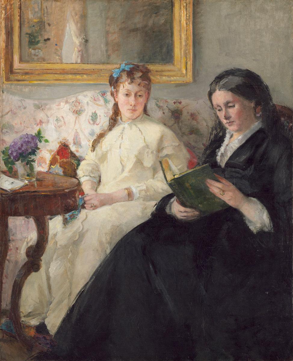 Madre e sorella dell'artista