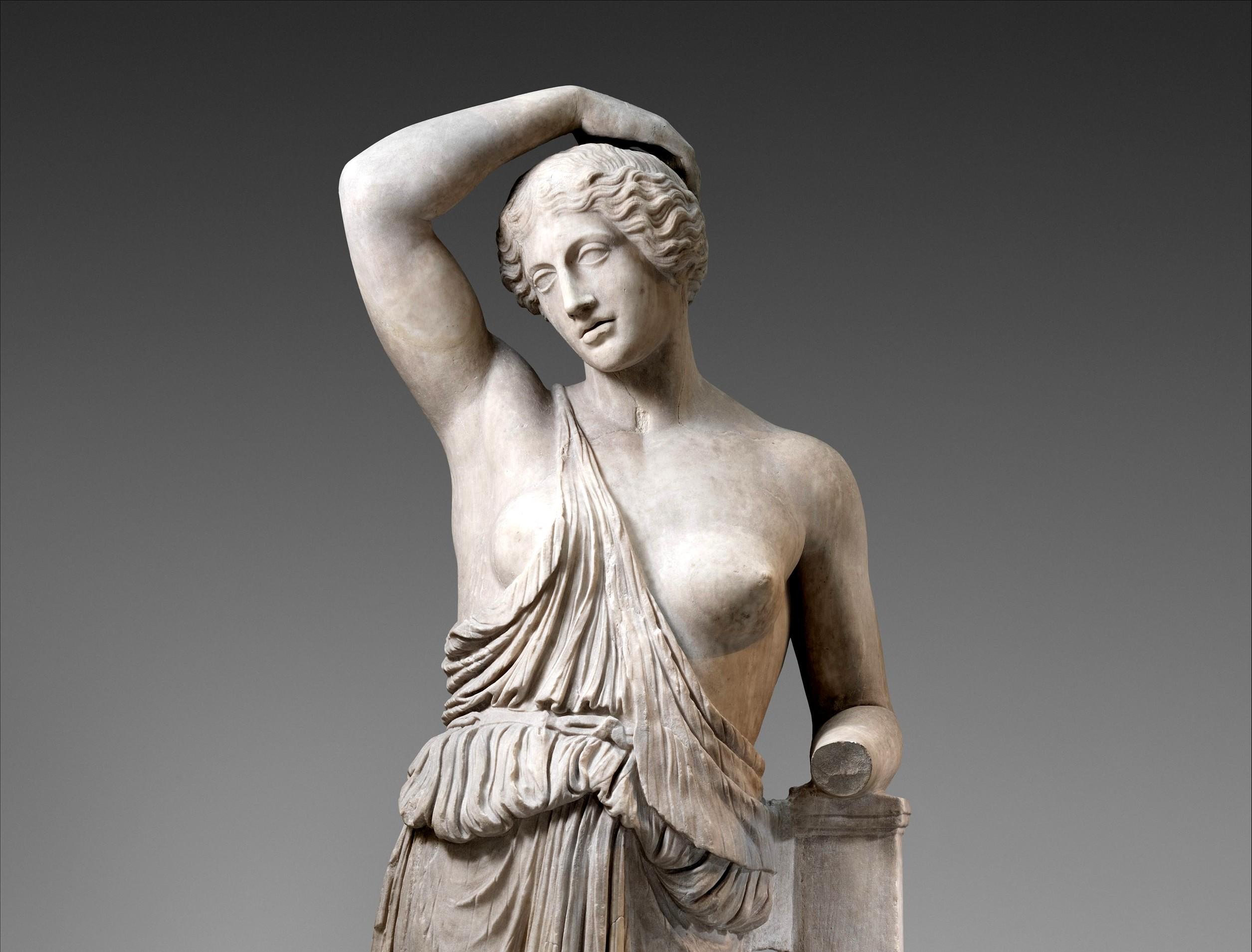 donna nell'arte greca