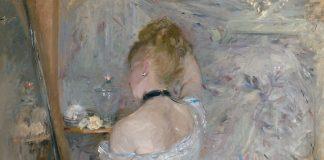 Berthe Morisot, donna alla sua toilette