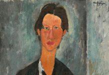 Amedeo Modigliani, Ritratto di Chaim Soutine, 1917
