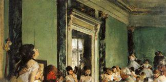 Edgar Degas, la classe di danza