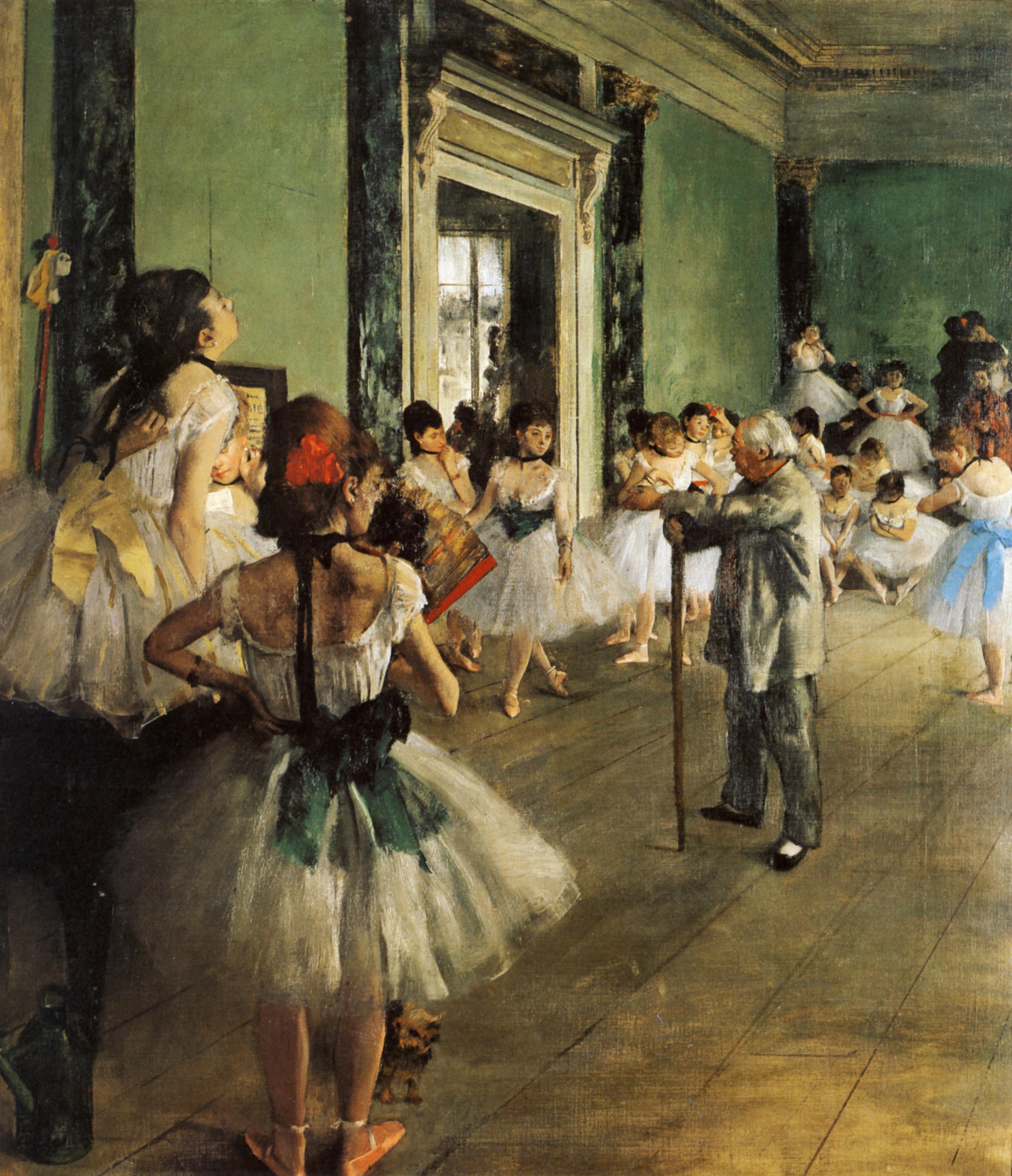 La classe di danza