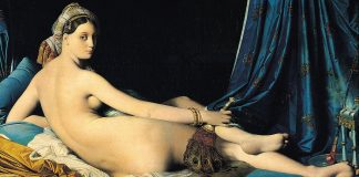 J.A.D.Ingres, la Grande Odalisca