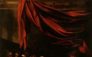 Caravaggio, la morte della Vergine