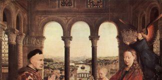 Jan van Eyck, La Madonna del cancelliere Rolin