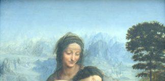 Leonardo da Vinci, Sant'Anna, la Vergine e il Bambino con l'agnellino