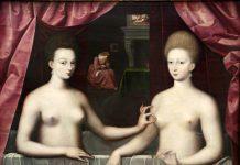 Scuola di Fontainebleau, la Duchessa d'Estrées